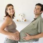 «Беременный» папа